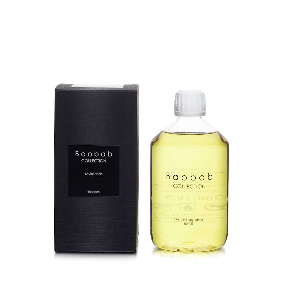 Baobab Collection NÁHRADNÍ NÁPLŇ DO DIFUZÉRU BAOBAB, PLATINUM - AMBRA A GREP, 500 ML 500 ml