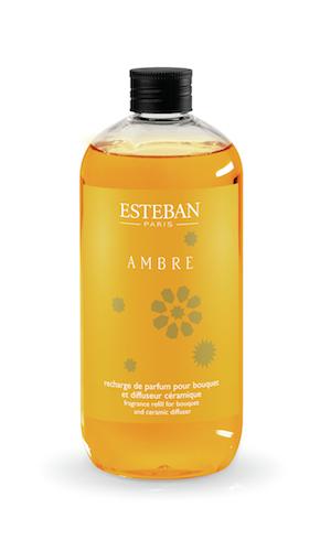 Estéban Paris Parfums NÁHRADNÍ NÁPLŇ DO DIFUZÉRU ESTEBAN - AMBRA, 500 ML 500 ml