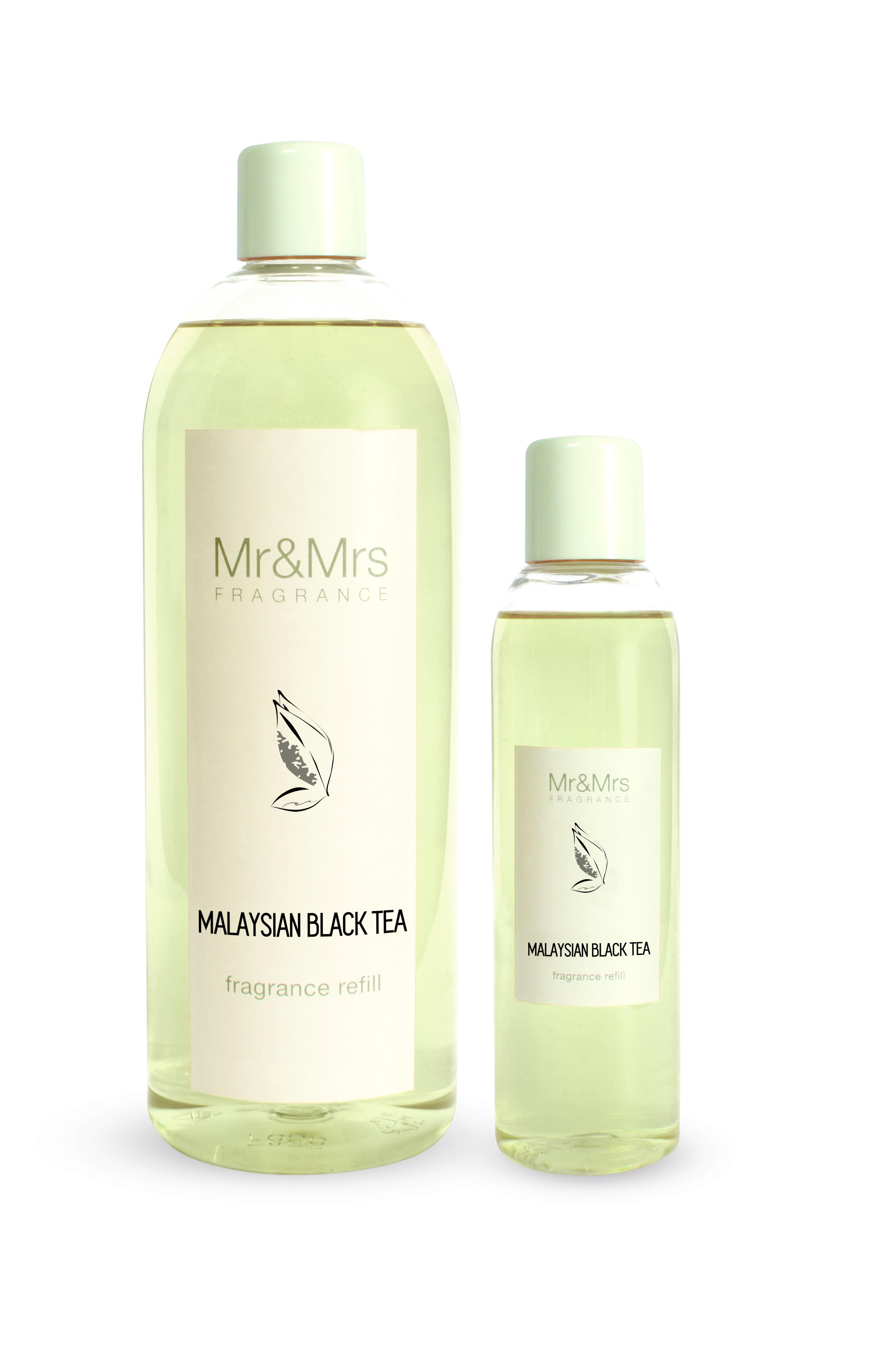 Mr&Mrs Fragrance MR&MRS FRAGRANCE NÁPLŇ DO DIFUZÉRU - MALAYSIAN BLACK TEA - 200 ML 200 ml