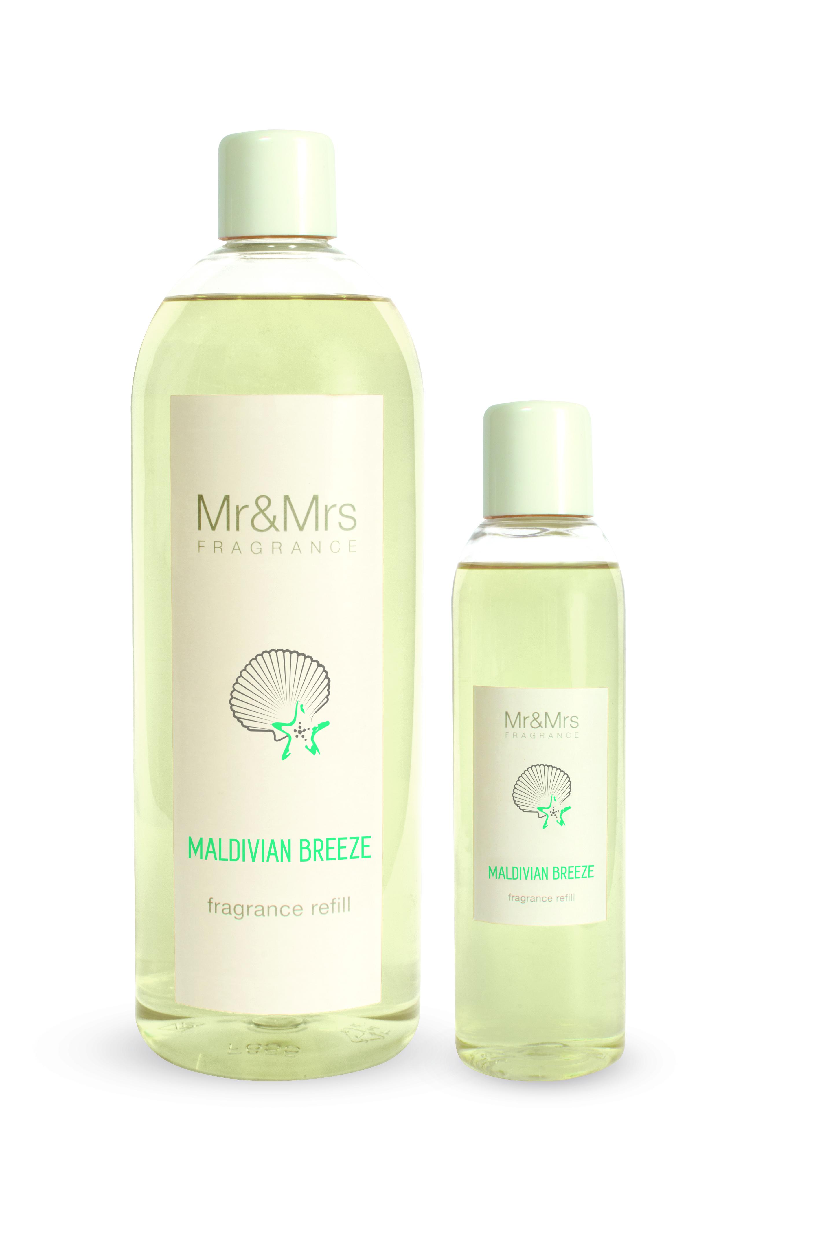 Mr&Mrs Fragrance MR&MRS FRAGRANCE NÁPLŇ DO DIFUZÉRU - MALDIVIAN BREEZE, 1000 ML